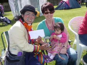 Bonny Baby Winner at the Kid's Fun Day - Beaumont Residents Association